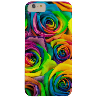 Rainbow Floral Barely There iPhone 6 Plus Case