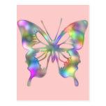 Rainbow Flower Post Card
