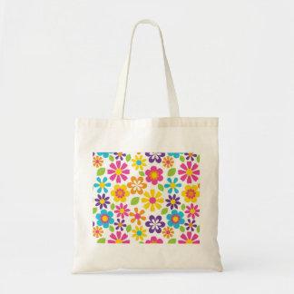 Rainbow Flower Power Hippie Retro Teens Gifts Bags