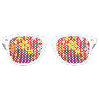 Rainbow Flower shades