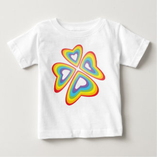 rainbow flower t-shirts