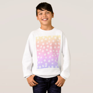 Rainbow Flowers Sweatshirt