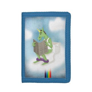 Rainbow Flush Unicorn Tri-fold Wallet