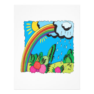 Rainbow Full Color Flyer
