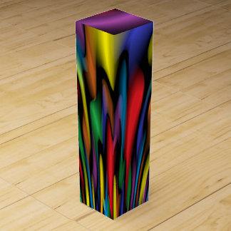 Rainbow Fountain Wine Gift Box