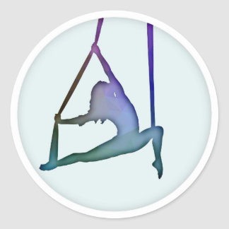 Rainbow Fractal Aerialist Sticker