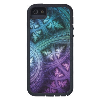 Rainbow Fractal Frost iPhone 5 Cases