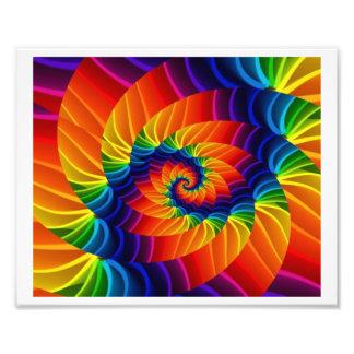 Rainbow Fractal Photo Art