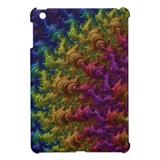 Rainbow Fractal Ripples Case For The iPad Mini