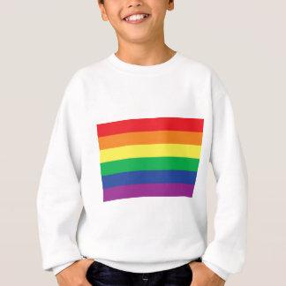 Rainbow  Freedom Gay Pride Flag Symbol Sweatshirt
