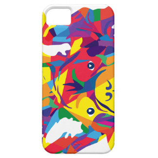 Rainbow French Bulldogge iPhone 5 Case