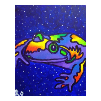 Rainbow Frog by Piliero Flyer
