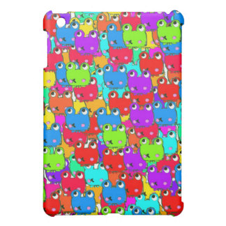 Rainbow frogs cover for the iPad mini