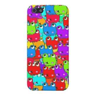 Rainbow frogs covers for iPhone 5
