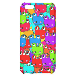 Rainbow frogs iPhone 5C covers