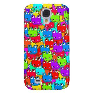Rainbow frogs samsung galaxy s4 cases