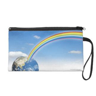 Rainbow from Earth 2 Wristlet Purses