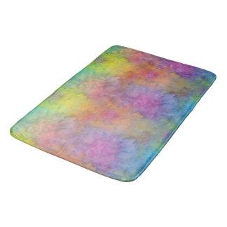 [Rainbow Frost] Multi-Colored Tie-Dye Bath Mat