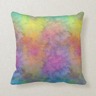 [Rainbow Frost] Multi-Colored Tie-Dye Cushion