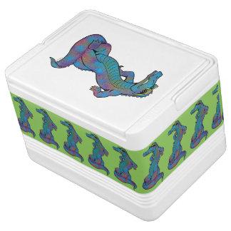 Rainbow Gator Igloo Cooler