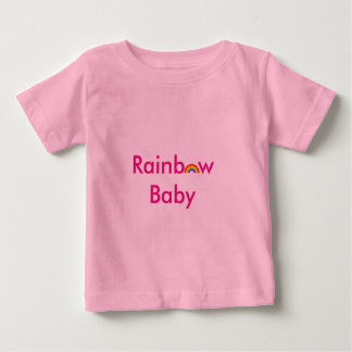 Rainbow gay baby shirt
