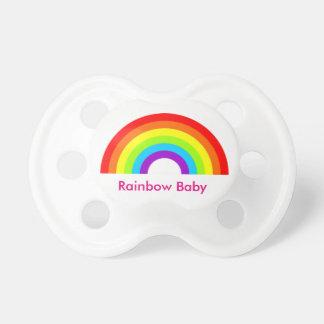 Rainbow gay holebi 0-6 months wean BooginHead® Pacifiers