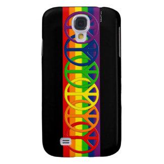 Rainbow Gay Peace Samsung Galaxy S4 Cases
