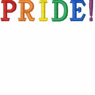Rainbow Gay Pride Embroidered Hoodie