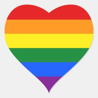 RAINBOW GAY PRIDE FLAG | STICKER