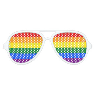 RAINBOW GAY PRIDE FLAG | SUN GLASSES