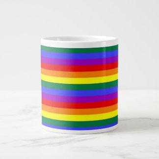 Rainbow Gay Pride Giant Coffee Mug