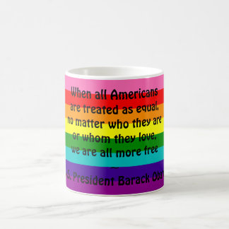 Rainbow Gay Pride LGBT Original 8 Stripes Flag Mug