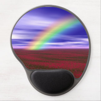 rainbow gel mouse pad