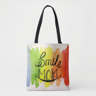 Rainbow Gets Colours From Mum's Smile Tote Bag