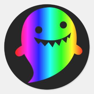 Rainbow Ghost sticker