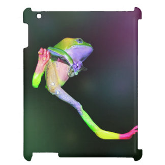 Rainbow Giant Waxy Monkey Tree Frog Case For The iPad 2 3 4