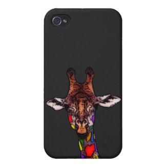 Rainbow Giraffe iPhone 4/4S Case