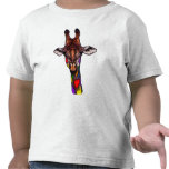 Rainbow Giraffe T-Shirt