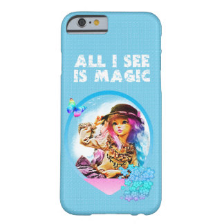 Rainbow Girl Barely There iPhone 6 Case