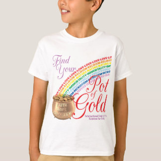 Rainbow Girls Find Your Pot of Gold T-Shirt
