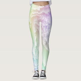 Rainbow Glitch Leggings