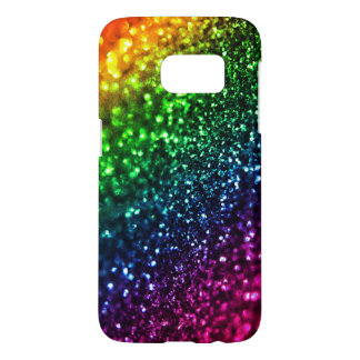 Rainbow Glitter Psychedelic