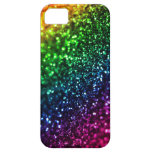 Rainbow Glitter Psychedelic iPhone 5 Case