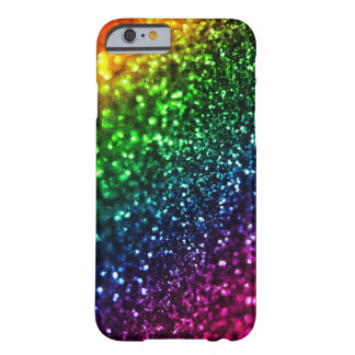 Rainbow Glitter Psychedelic iPhone 6 case