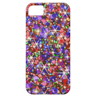 Rainbow glitter sparkle iPhone 5 cases