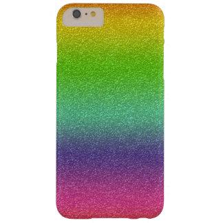 Rainbow Glitter Texture iPhone Case