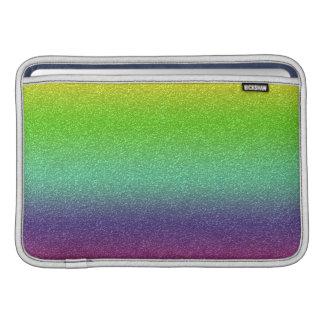 Rainbow Glitter Texture Macbook Air Sleeve