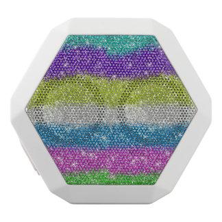 Rainbow Glitters Stripes