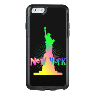Rainbow Glow New York American Statue Of Liberty OtterBox iPhone 6/6s Case