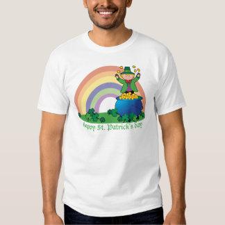 Rainbow Gold Leprechaun T-shirts